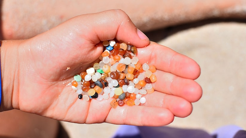 plastic nurdle pollution