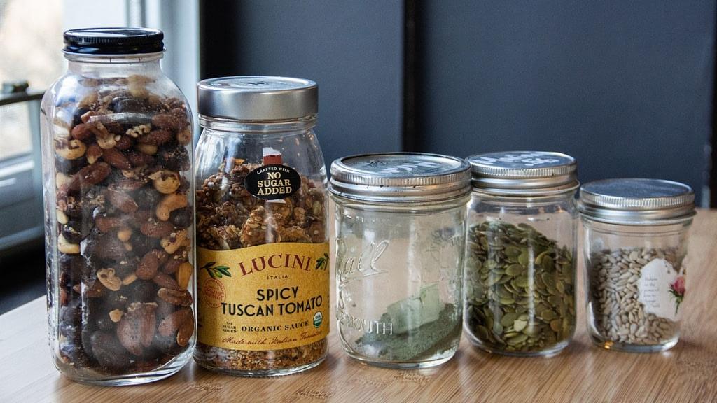 mismatched reusable jars