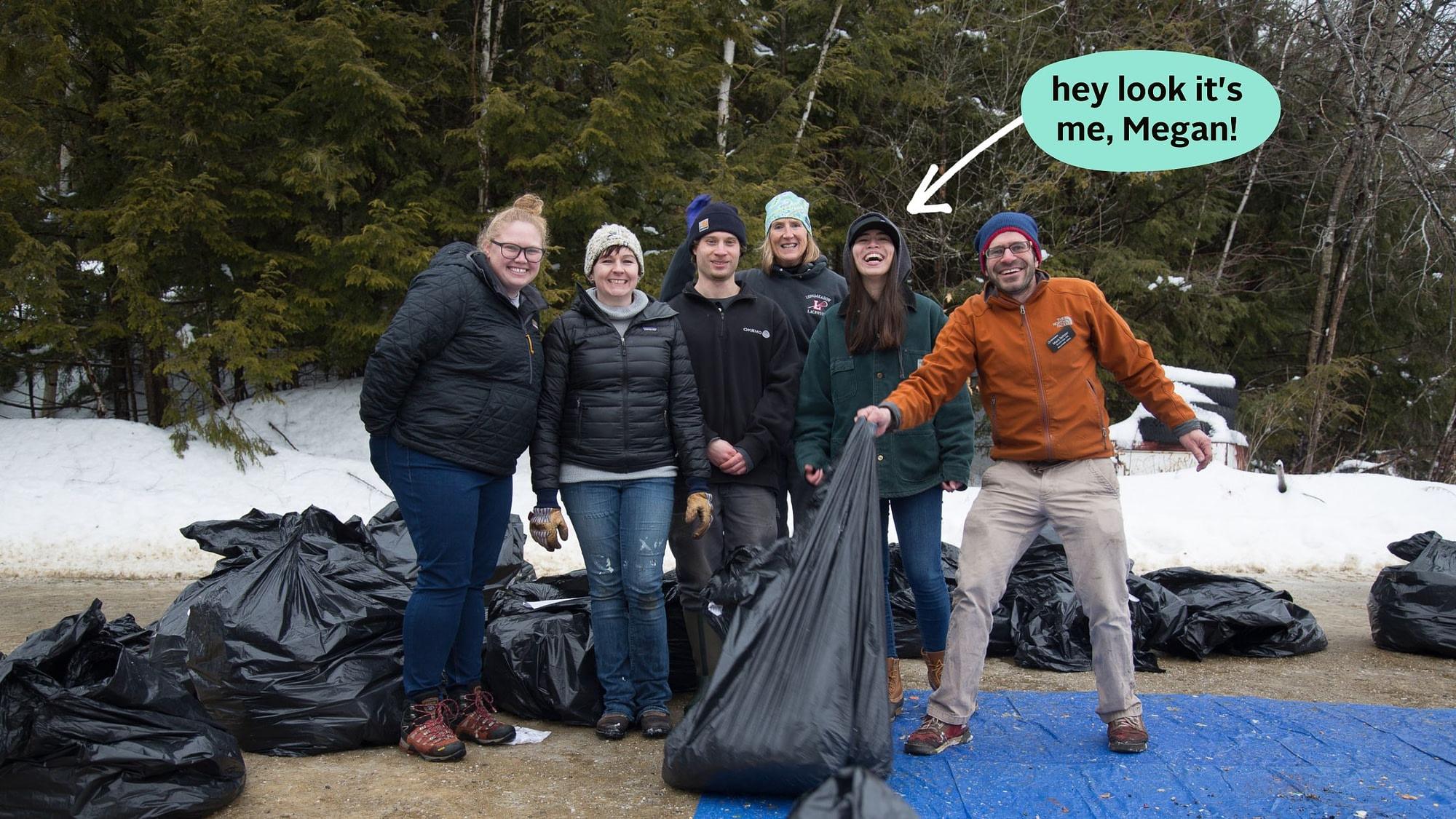 zero waste ski resort green team