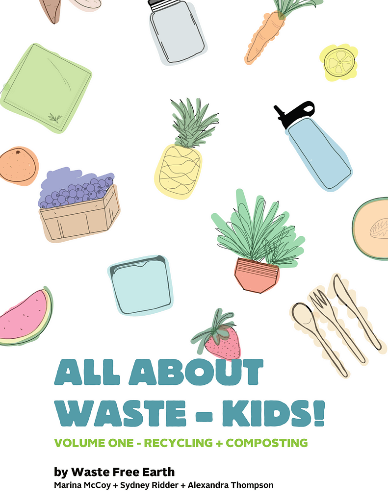 all about waste book cover preview